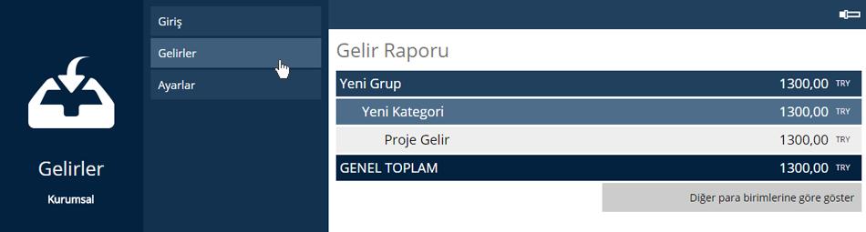 Gelir Raporu