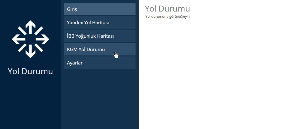 KGM Yol Durumu
