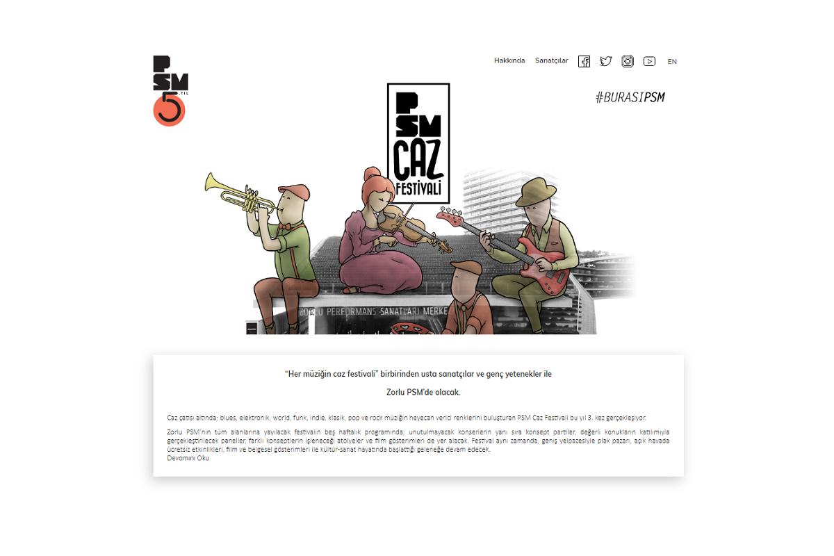 PSM Caz Festivali 2019 programı açıklandı
