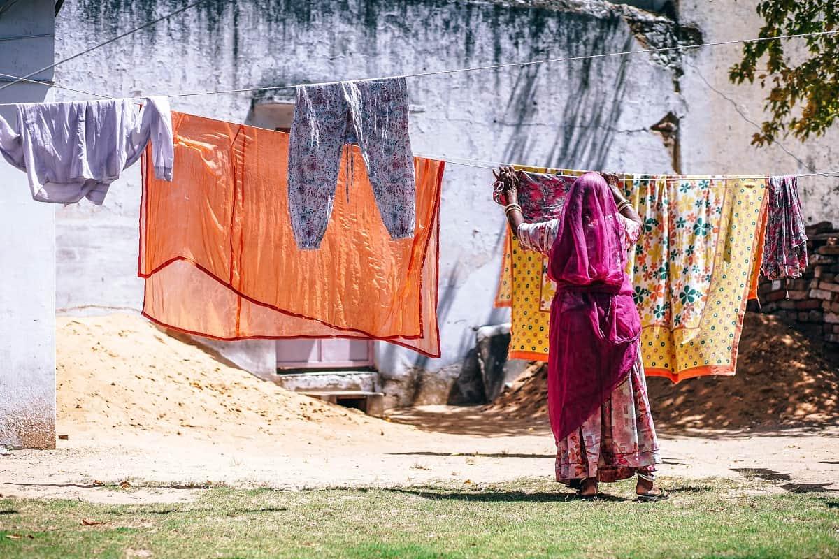 Çamaşır Fotosu